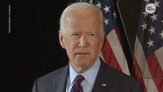 Former Vice President Joe Biden calls for impeachment inquiry into President Donald Trump
