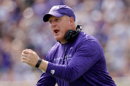 Chris Klieman is in his first season with Kansas State.