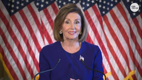House Speaker Nancy Pelosi announces an impeachment inquiry against President Donald Trump