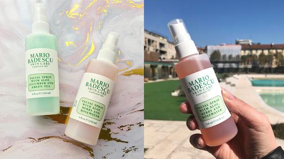 A spray a day keeps dry skin away.