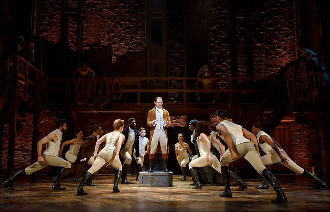 """The second national tour of """"Hamilton"""" has a 24-show run at the Fox Cities Performing Arts Center in Appleton."""