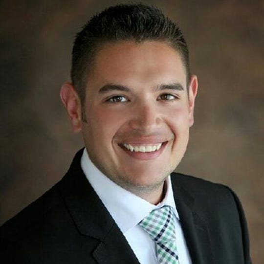 Dominic Renteria will represent District 3 on the Outagamie County Board.