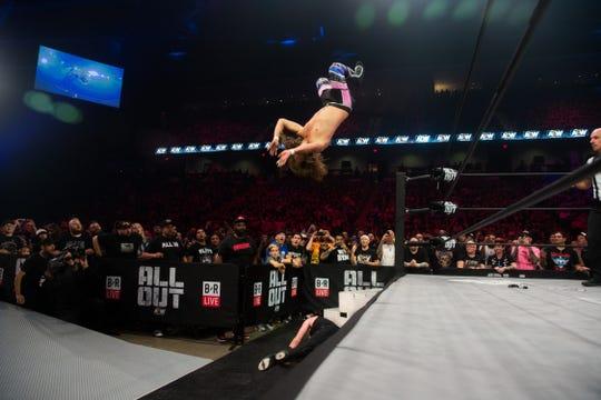 Hazlet native Joey Janela competes for All Elite Wrestling.