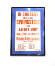 Old concert posters are part of the 'Springsteen: His Hometown' exhibit at the Monmouth County Historial Association. It is an historical exhibit that will provide a comprehensive look of how Monmouth County, NJ has been thematically woven into Bruce Springsteen's music and art throughout his career.