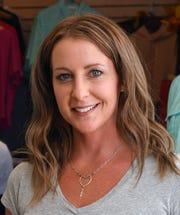 Crystal Cooper, owner and founder of Salty Sweet Pro/Am Surf Contest in Cocoa Beach.