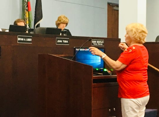 "Barbara Gorin of Viera told county commissioners that she wants the Brevard County Sheriff's Office budget to be more ""above-board,"" with line-item details."