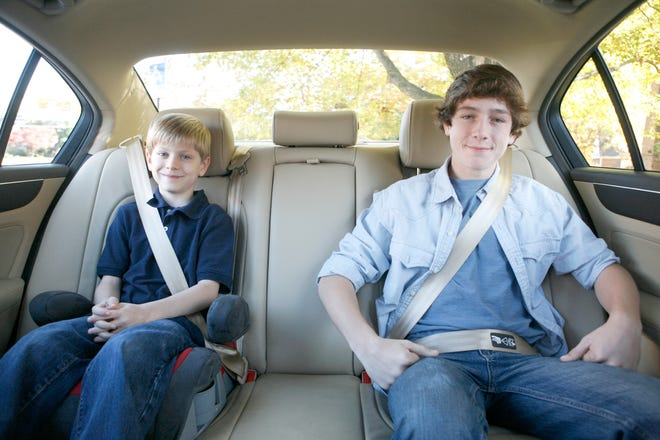 Children follow by example, including wearing seat belts.
