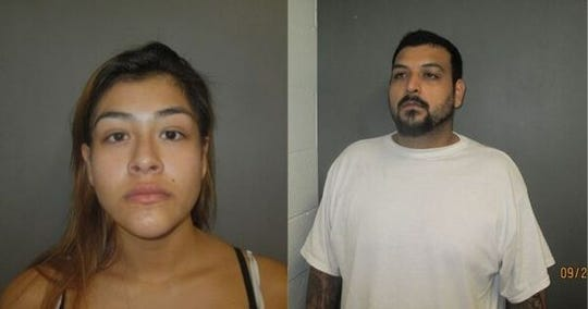 Cara A. Alvarado, 24, and Jesse M. Sandoval Jr., 30.