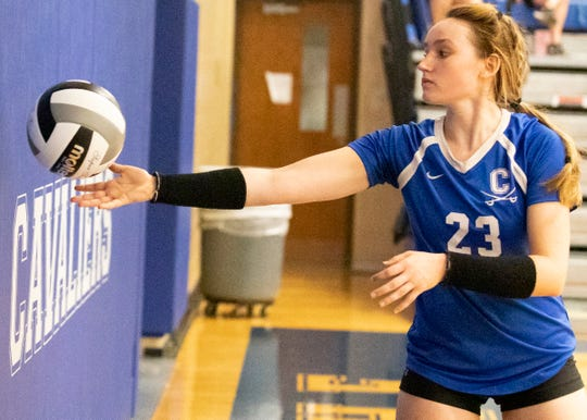 Chillicothe volleyball's Sophie Fulkerson earned the FAC Player of the Year Award as she led Chillicothe to an 8-2 record in league play and a share of the conference title.