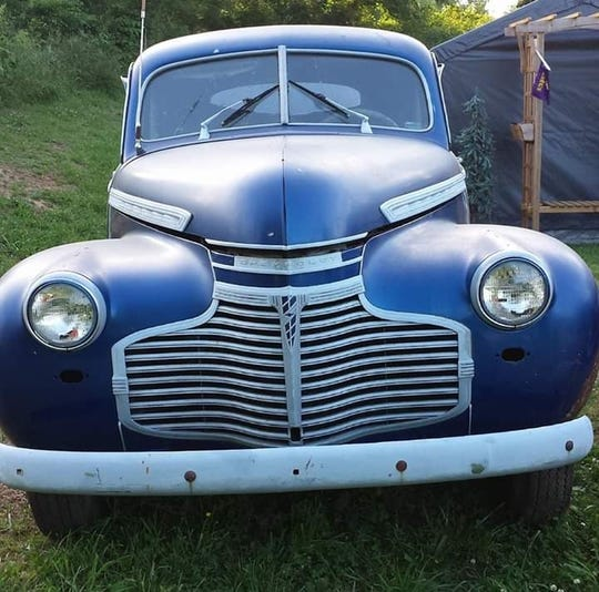 A blue 1941 Chevrolet Deluxe Master two door car was stolen on Sept. 22, 2019