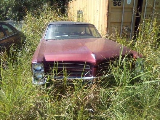 A maroon 1964 Pontiac was stolen on Sept. 22, 2019