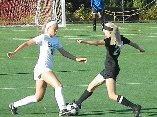 The Old Bridge girls soccer team hosted rival East Brunswick on Tuesday, Sept. 24, 2019.