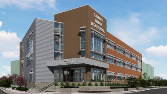 Voters overwhelmingly approveda $37 million schoolreferendum on Tuesday to construct anew state-of-the-artjunior high schooland providerenovations and improvements at other districtschools.