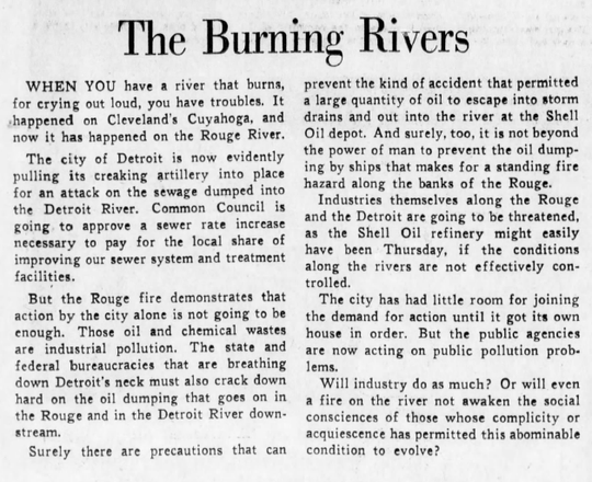 Part of a Free Press editorial that ran October 12, 1969.