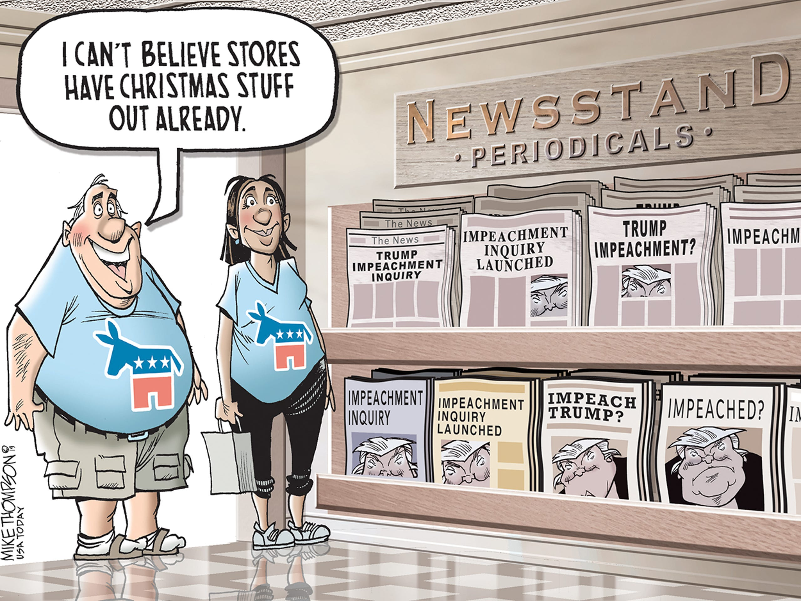 Enjoy Politics And Satire Check Out Our September Gallery Of Cartoons