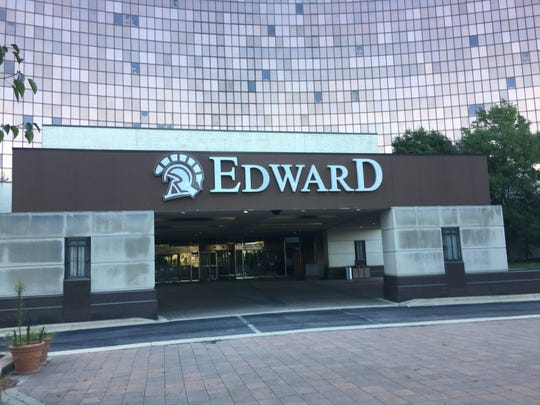 The Edward Hotel & Convention Center was padlocked and completely empty  on Sept. 24, 2019