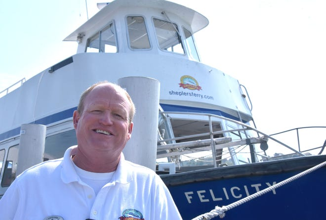 Chris Shepler, president of Sheplers Mackinac Island Ferry, talks about the company's new ferry.
