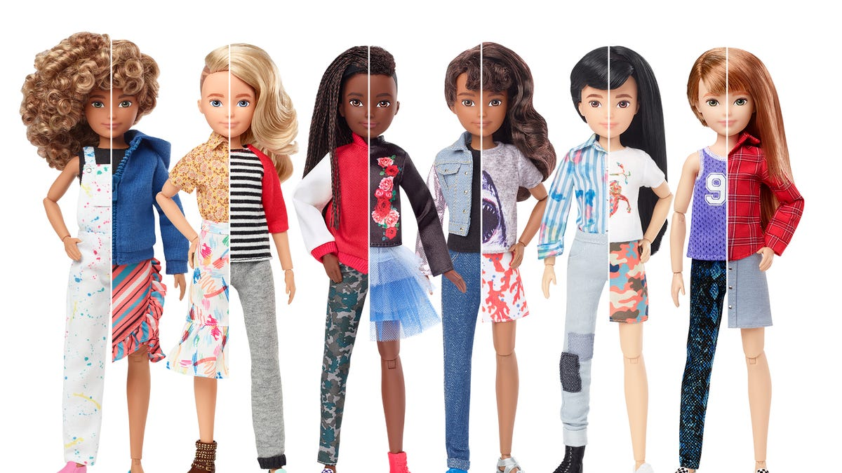 Mattel S Newest Dolls Can Be Boys Girls Neither Or Both