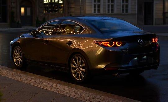 The 2019 Mazda3 sedan.