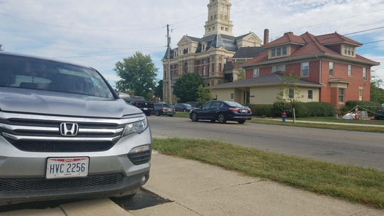 Honda has transformed the town of Marysville, Ohio, and Union and Logan counties, north of Columbus. A Honda Pilot  sits in front of the historic Union County Courthouse.