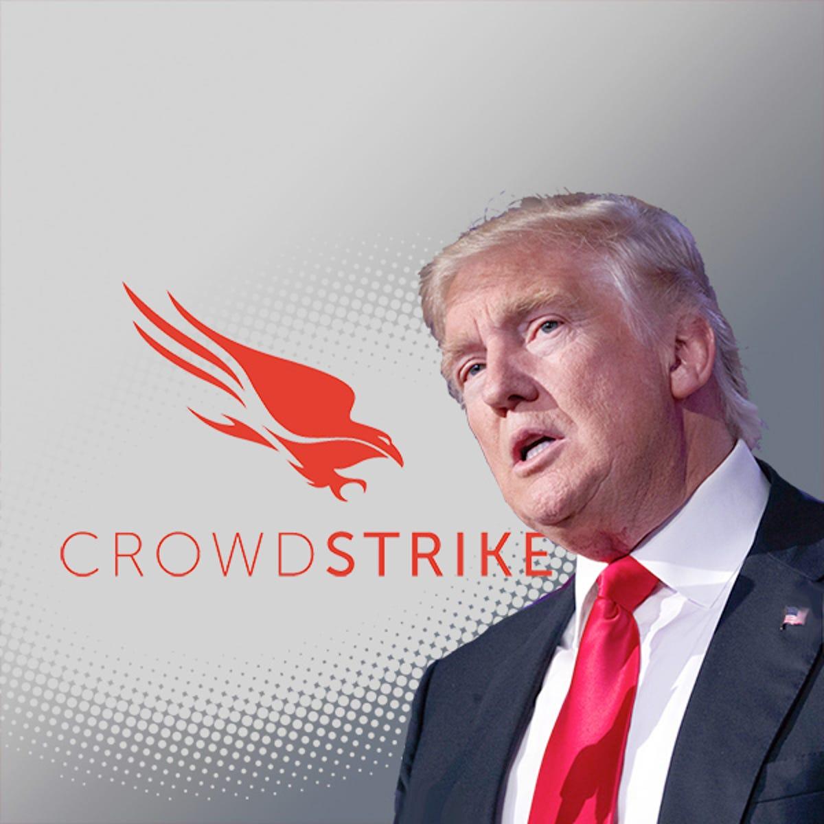 Image result for Trump vs Crowdstrike