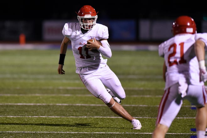 Grant Henson and Orchard Lake St. Mary's plays host to Warren De La Salle on Friday.