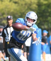 Lions wide receiver Danny Amendola sat out Wednesday's practice.