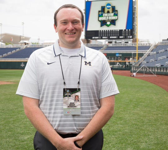 Brian Boesch is the new voice of Michigan men's basketball.