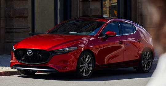 The 2019 Mazda3 hatchback