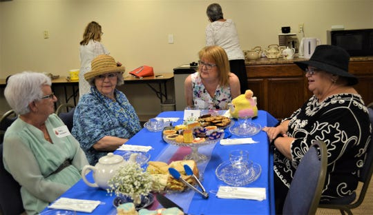 The Daughters of the British Empire in Ohio was formed in 1914 as a way to connect women who were British by birth or ancestry. Today, only four chapters remain in Ohio, including this group, the Winston Churchill chapter, which enjoyed an English Tea at Oak Harbor Public Library.