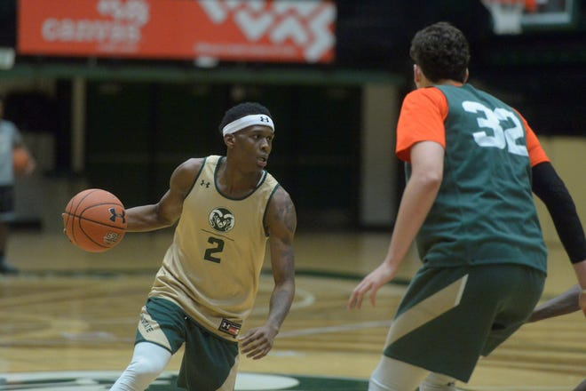 Teyvion Kirk sat out the 2019-20 season after transferring to CSU from Ohio. He's now reportedly set to transfer out of CSU.