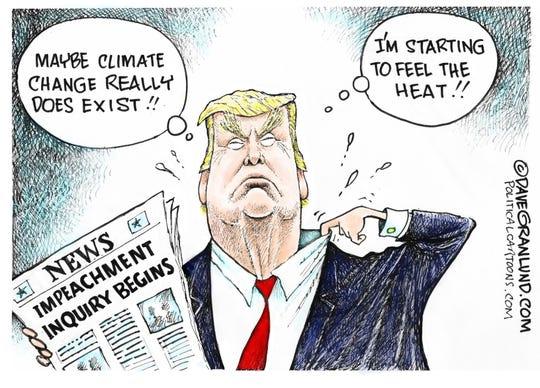 Trump feels the heat.