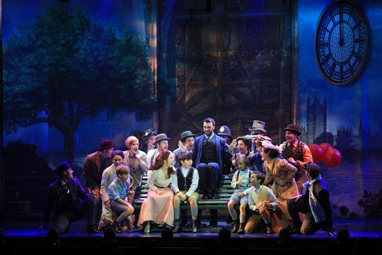 "A scene from the new national tour of ""Finding Neverland"""