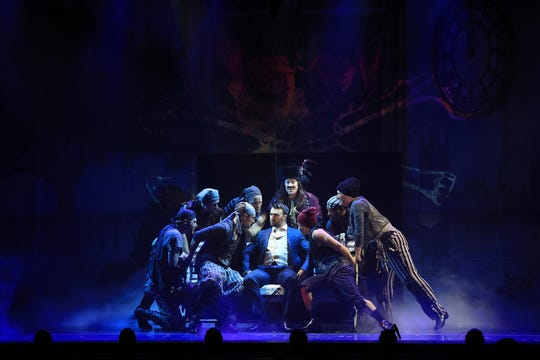 """A scene from the new national tour of """"Finding Neverland"""""""