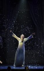 "Josephine Florence Cooper stars as Sylvia in the new national tour of ""Finding Neverland"""