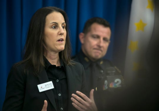 Stacey Cook, the president and CEO of SalusCare, speaks about the Cape Coral Police Department's new program, called HOPE, Heroin-Opioid Prevention Education. The program is aimed at changing the way officers interact with people who are requesting help with their addiction to opioids.