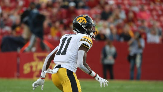 Michael Ojemudia, as well as veteran safety Geno Stone, have helped the Hawkeyes' secondary survive amid numerous injuries.