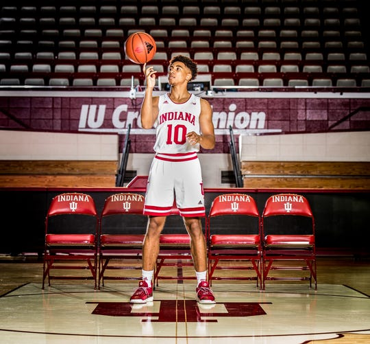 IU sophomore point guard Rob Phinisee.