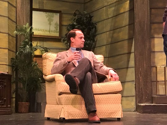 Rob Beebe portrays Robert in the play Don't Dress for Dinner, which begins next Thursday.