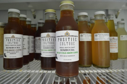 R2 Positive Culture specializes in homemade kombucha, kefir, sauerkraut, and more.