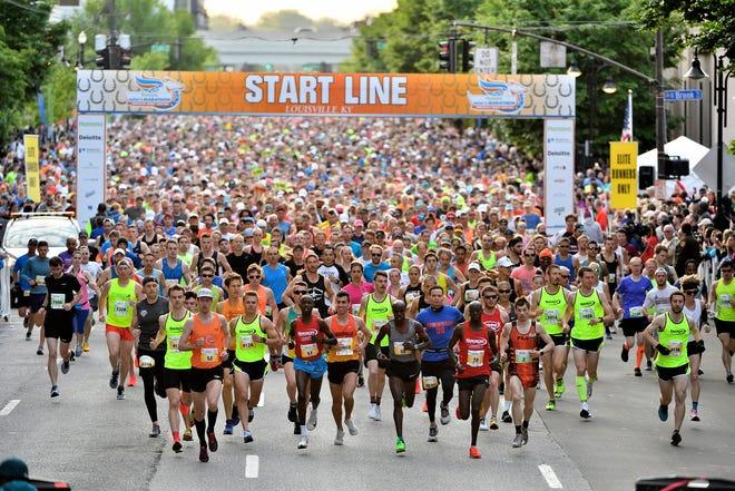 Kentucky Derby Festival Marathon and miniMarathon 2019