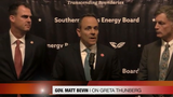 """When asked for his thoughts on teen environmentalist Greta Thunberg's speech at the United Nations, Matt Bevin said she was """"remarkably ill-informed."""""""