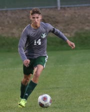 MAdison's Dylan Metz scored the first goal of the game in a 3-1 loss to Lexington on Tuesday night.