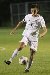 Lexington's Ryan Parker scored his 50th and 51st career goal in a 3-1 win over Granville last week. He also scored a goal in an Ohio Cardinal Conference championship clinching victory over Madison.