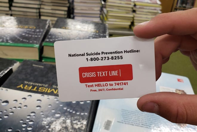 Beginning with the 2019-20 school year, all IDs for California students in grades seven through 12, and in college, must bear the telephone number of the National Suicide Prevention Lifeline.