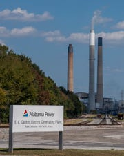 Alabama Power's Ernest C. Gaston Electric Generating Plant, a coal and natural gas-fired electrical generation facility, near Wilsonville, Ala., is shown on Wednesday September 25, 2019.