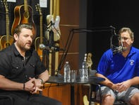 Vince Gill and Chris Young talk music, family in first episode of Country Mile Podcast