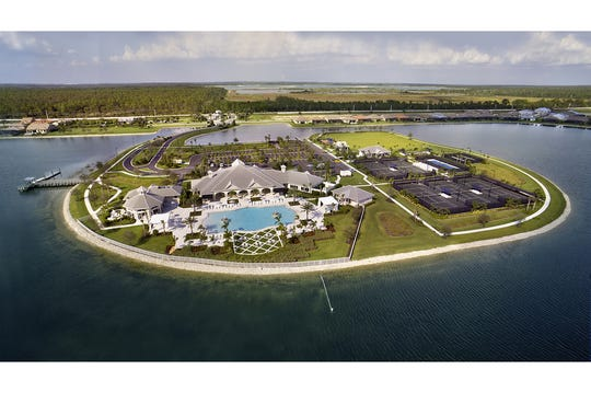 Corkscrew Shores offers a resort-style lifestyle featuring an expansive amenity campus surrounded by natural preserves and a sparkling lake.