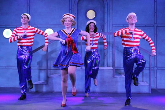 From left, Dick Ruby, Joan and Lucky , with Collin Yates as Dick, Shannon Conboy as Ruby, Sami Doherty as Joan and A.J. Foggiano as Lucky.