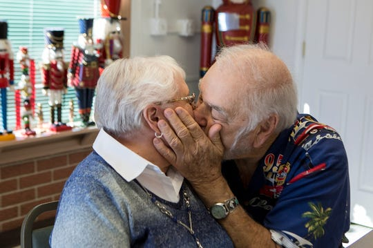 "When they reunited on her doorstep for the first time in 63 years, Annette Callahan said, ""He held my face in both his hands and he kissed me."" Bob Harvey kissed his lost love that way again Sept. 25 at the Nutcracker Restaurant in Pataskala with family and staff looking on. The couple plan to wed in October."
